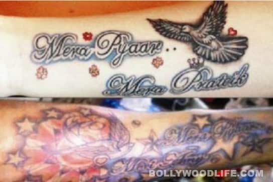 Prateik and Amy Jackson get inked!