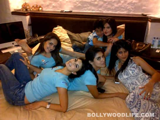 HOUSEFULL 2: No catfights for Asin, Shazahn, Zarine and Jacqueline