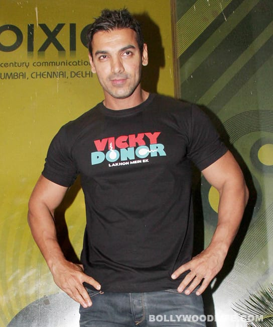 Is John Abraham giving 'Vicky Donor' priority over 'Shootout at Wadala'?