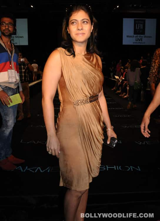 LFW 2012 special: What were Kajol, Sridevi, Amrita Rao and Tanisha thinking?