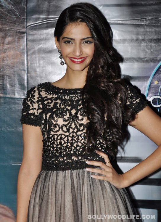 Sonam Kapoor: Pay for a shrink instead of buying a new bag