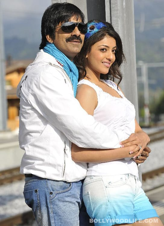 Ravi Teja romances Kajal Aggarwal and Taapsee Pannu in Tamil movie 'Veeraiah'