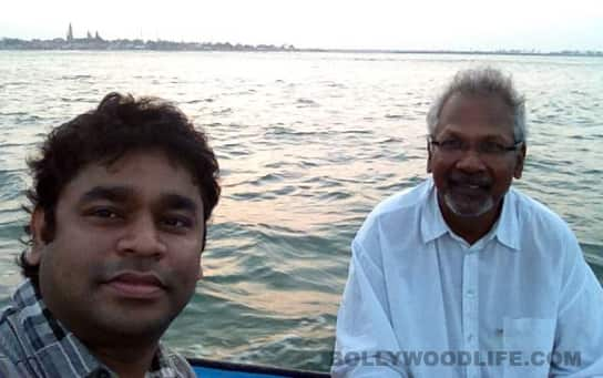 AR Rahman and Mani Ratnam brainstorm at sea
