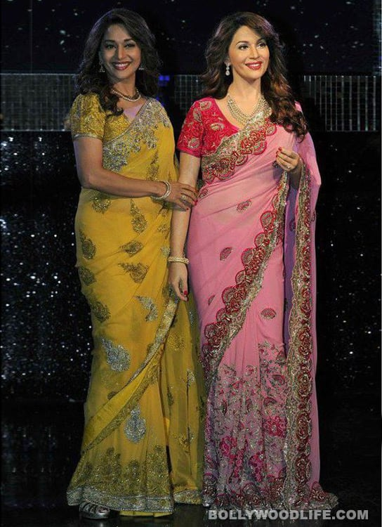 Madhuri Dixit's wax statue unveiled at Madame Tussauds