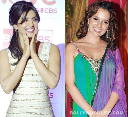 Priyanka Chopra and Kangna Ranaut: B-town's new BFFs
