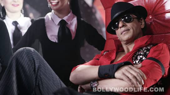 Holi special feature: Shahrukh Khan is red!