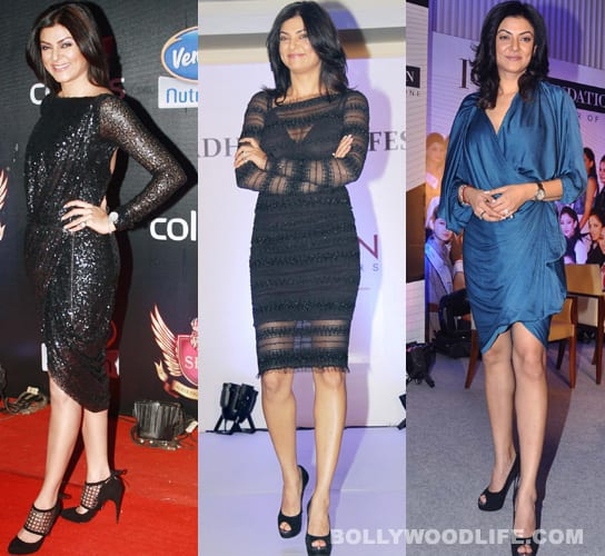 What happened to Sushmita Sen's dressing sense?