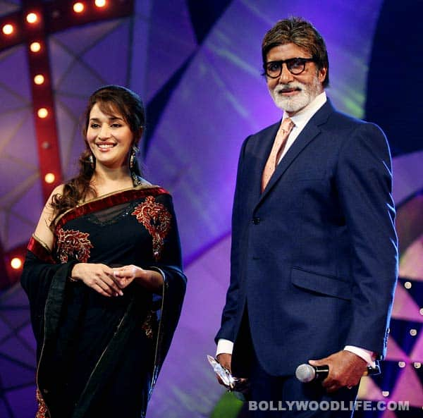 Amitabh Bachchan takes over Madhuri Dixit's responsibilities