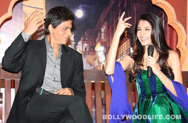 Anushka Sharma: I'm lucky to work with Shahrukh Khan again