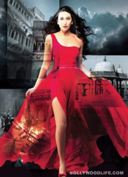 Karisma Kapur in a glam avatar in the first look poster of 'Dangerous Ishq'
