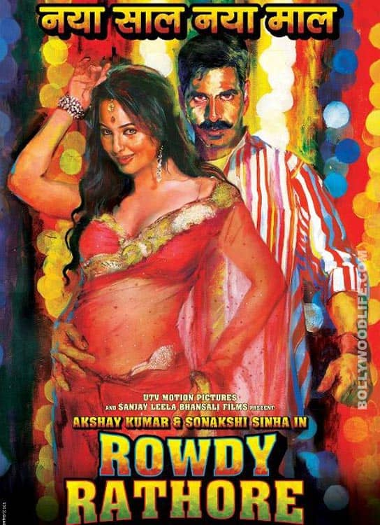 Akshay Kumar's ROWDY RATHORE trailer induces headache!