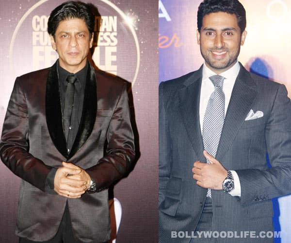 Will Shahrukh Khan overshadow Abhishek Bachchan yet again?