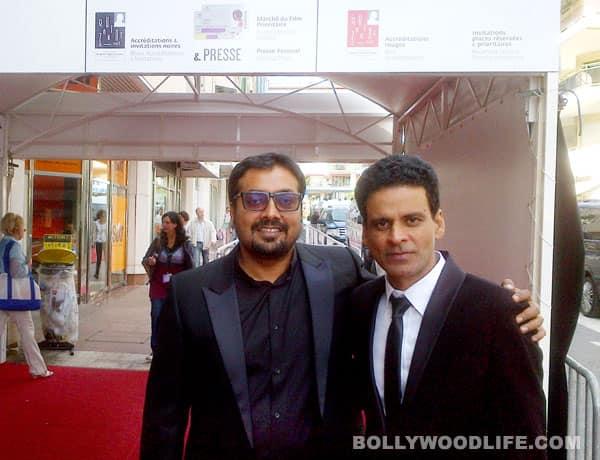 Manoj Bajpayee, Anurag Kashyap, Nawazuddin Siddiqui at Cannes Film Festival 2012