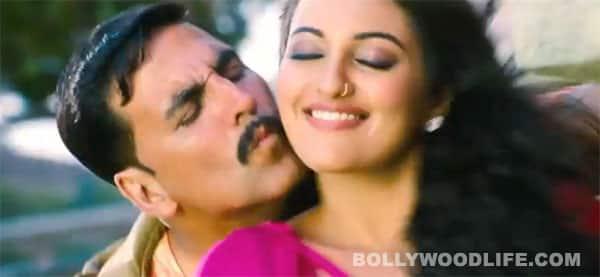 ROWDY RATHORE song: Akshay Kumar, Sonakshi Sinha get rowdy in 'Dhadang dhadang'