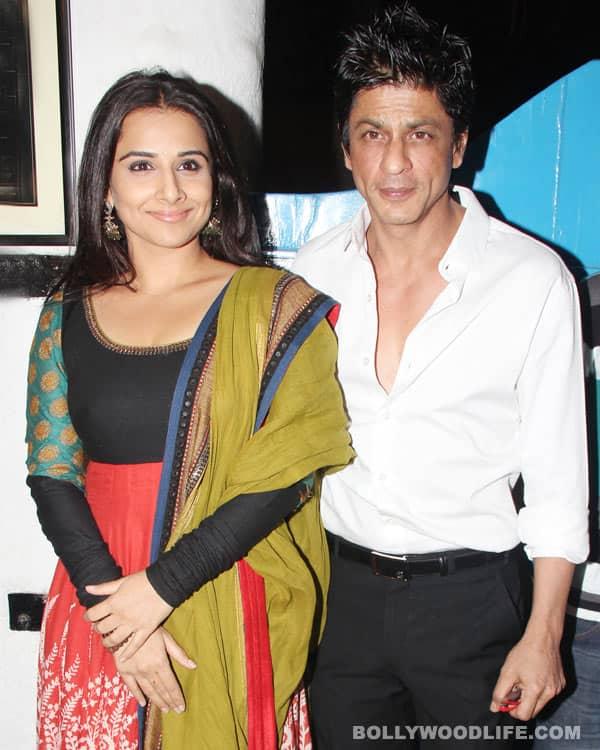 Vidya Balan wants to romance Shahrukh Khan & Hrithik Roshan