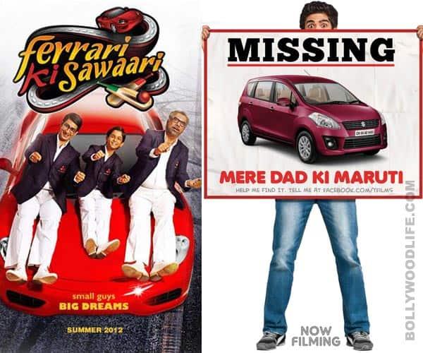 After 'Ferrari Ki Sawaari' comes 'Mere Dad KiMaruti'