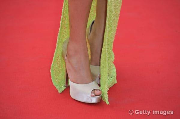 Freida Pinto's fixation with thigh-high slits!