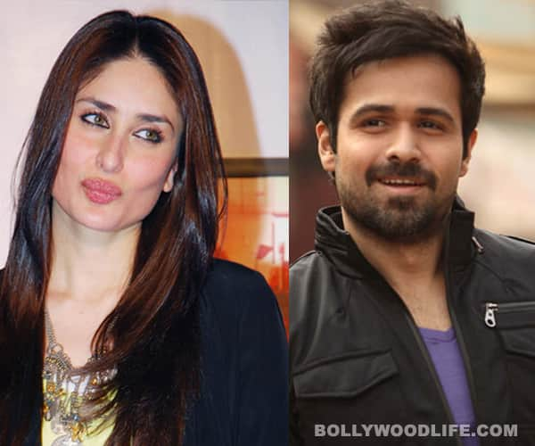 What made Kareena Kapoor change her mind about working with Emraan Hashmi?