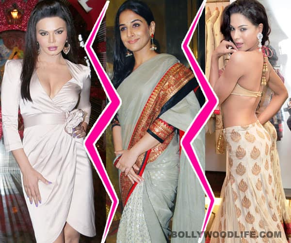 Rakhi Sawant or Veena Malik: Whom will Vidya Balan support?