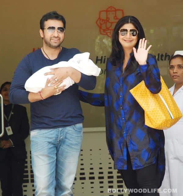 Exclusive: Pics of Shilpa Shetty-Raj Kundra's new baby!