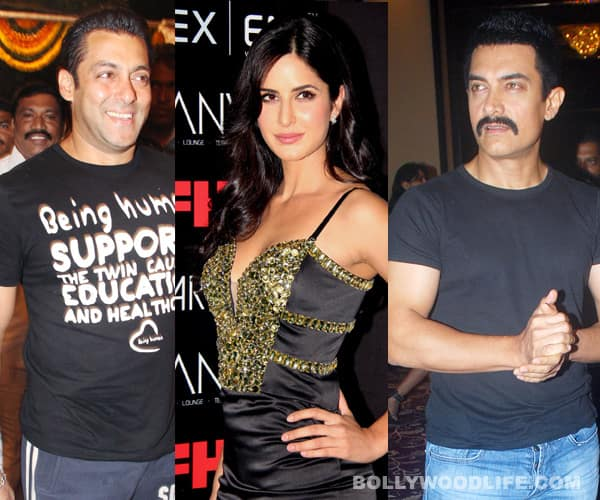 Salman Khan trains Katrina Kaif to kick Aamir Khan's butt
