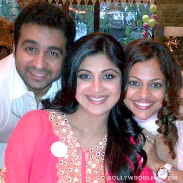 Shilpa Shetty's baby shower: Malaika, Amrita, Neha go glam