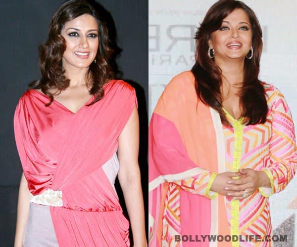 Sonali Bendre springs to Aishwarya Rai Bachchan's defence