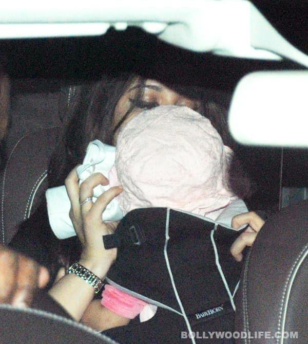 Aishwarya Rai Bachchan and Aaradhya return from London