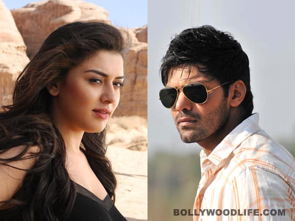 Arya to do steamy scenes with Hansika and Anjali