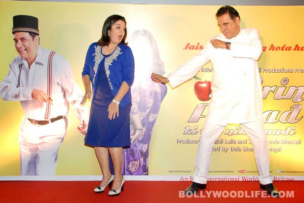 Boman Irani and Farah Khan act crazy!