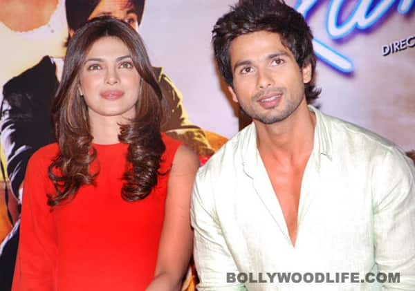 Priyanka Chopra and Shahid Kapoor gear up to perform at the IIFA Awards Ceremony!