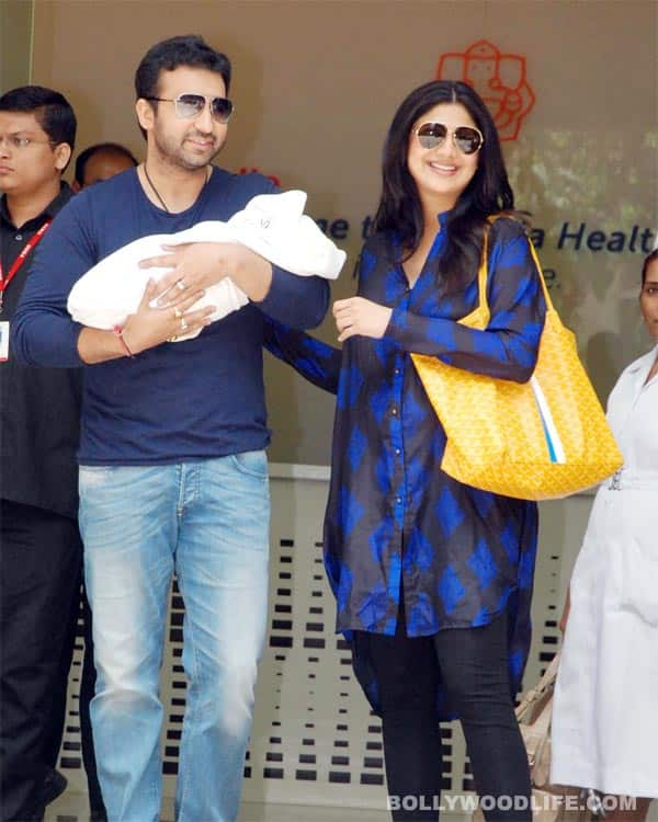 Shilpa Shetty and Raj Kundra's baby boy named Viaan Raj Kundra!