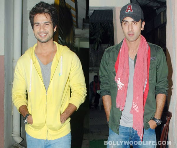 Shahid Kapoor and Ranbir Kapoor are 'just good friends' – right!