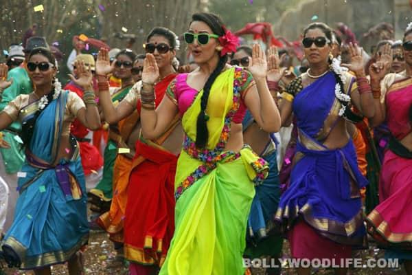 Sonakshi Sinha style: Bright ghagras…again!