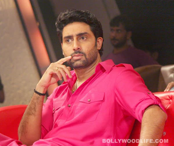 Is Abhishek Bachchan willing to swear onscreen?