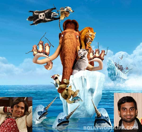 Kunal Nayyar, Aziz Ansari lend their voice for 'Ice Age 4′