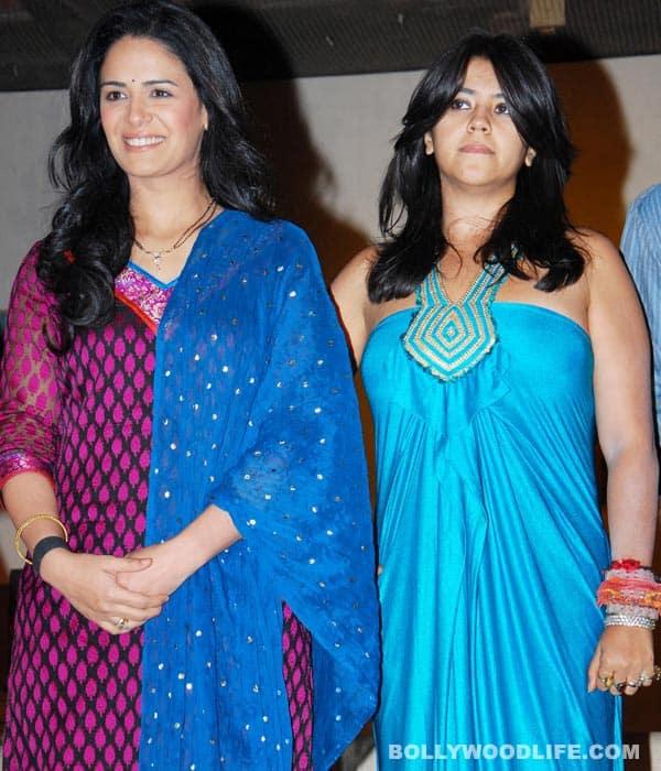 KYA HUA TERA VAADA: Ekta Kapoor, Mona Singh, take abow!