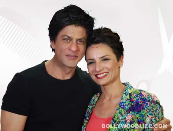 Why does Shahrukh Khan support Adhuna Akhtar's TV show?