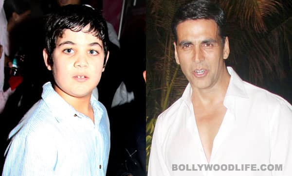 Akshay Kumar bonds with son Aarav in Malaysia