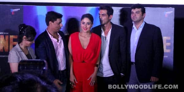 Why did Kareena Kapoor get angry at the 'Heroine' trailer launch?