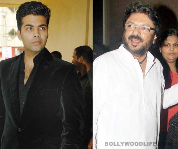 Is all well between Karan Johar and Sanjay Leela Bhansali?