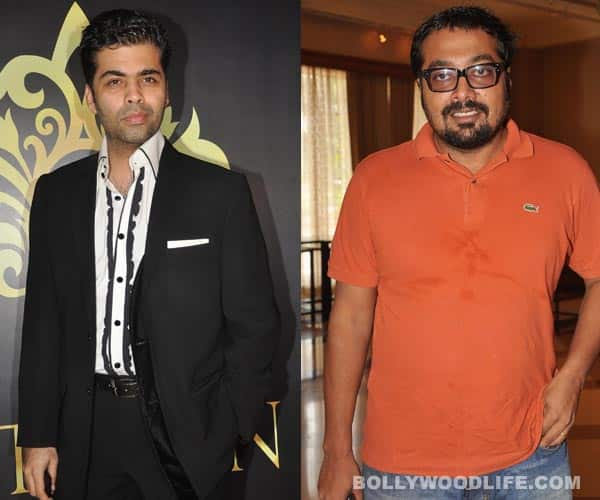 Are Karan Johar and Anurag Kashyap friends turned foes?