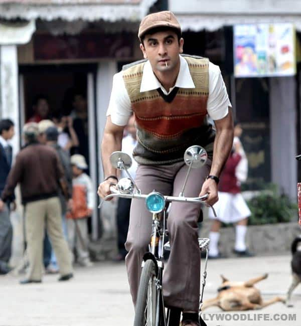 Ranbir Kapoor makes a charming style statement in 'Barfi!'