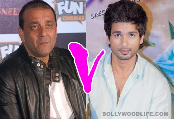 Sanjay Dutt and Shahid Kapoor to face off