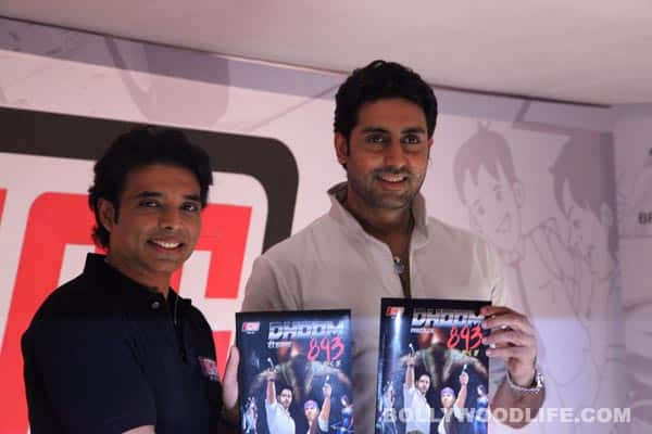 Abhishek Bachchan launches Uday Chopra's comic book label