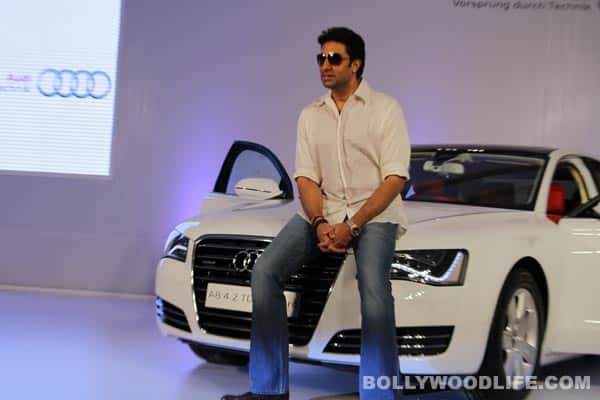 Abhishek Bachchan gives himself a customised Audi!