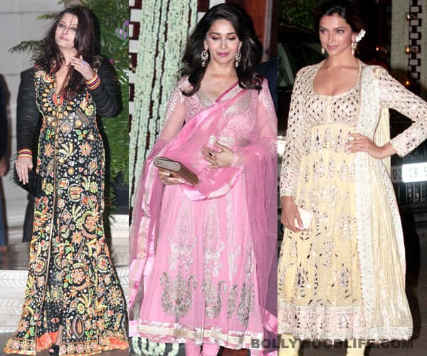 Aishwarya Rai Bachchan, Madhuri Dixit-Nene, Deepika Padukone shine at the Ambani party