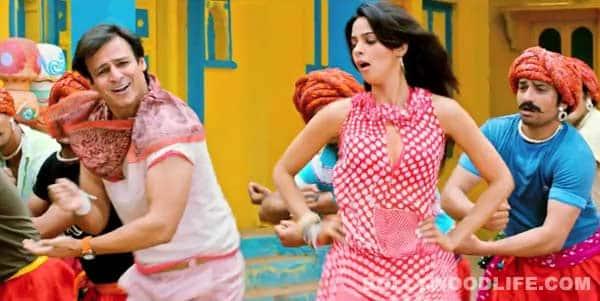 KISMAT LOVE PAISA DILLI SONG Dhishkiyaon: Vivek Oberoi shot down by Mallika Sherawat!