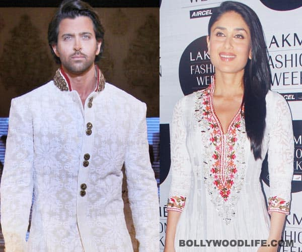 Hrithik Roshan and Kareena Kapoor not working together