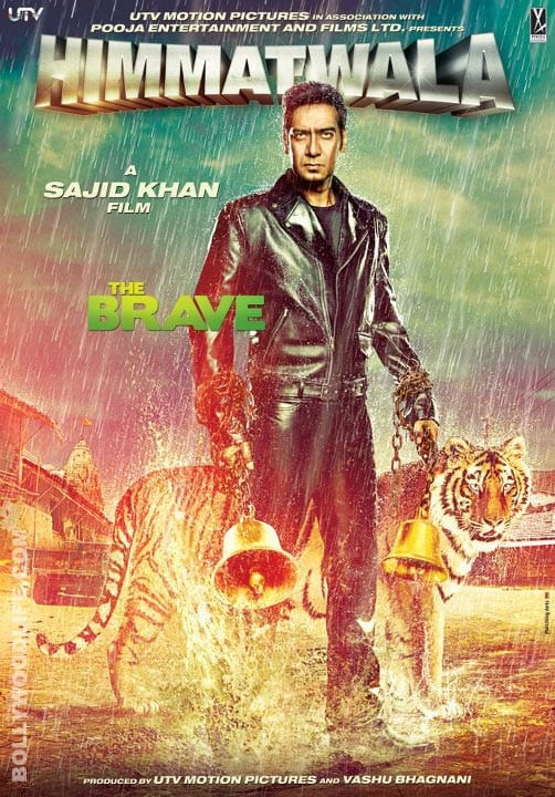 Is Ajay Devgn taking a dig at Salman Khan in 'Himmatwala' first look?